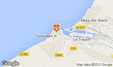 Map Le Tréport House 16976