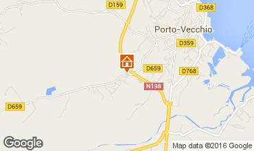 Map Porto Vecchio Apartment 7940
