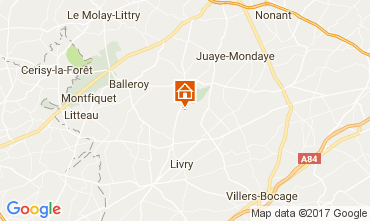 Map Bayeux Mobile home 13330