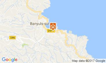 Map Banyuls-sur-Mer Apartment 49276