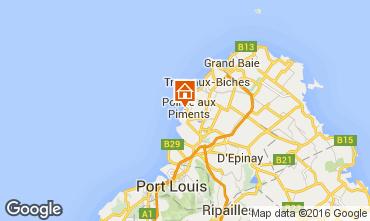 Map Trou-aux-biches Villa 98847