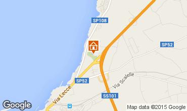 Map Gallipoli Studio apartment 87224