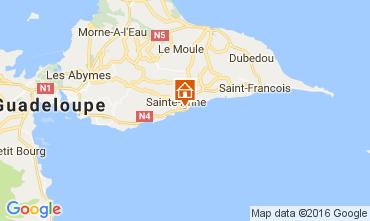 Map Sainte Anne (Guadeloupe) House 106474