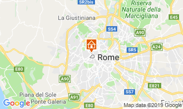Map Rome Apartment 119077