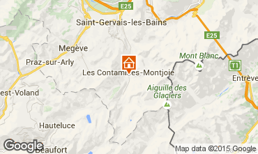 Map Les Contamines Montjoie Apartment 90508