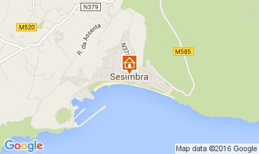 Map Sesimbra Apartment 97737