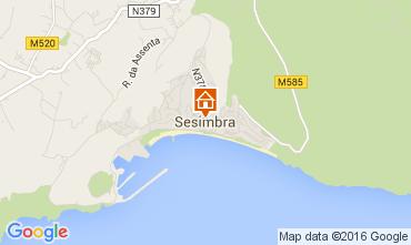 Map Sesimbra Apartment 97737
