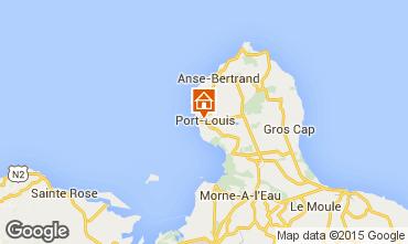 Map Port Louis Studio apartment 74882
