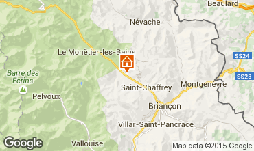 Map Serre Chevalier Apartment 58839