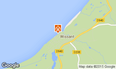 Map Wissant Apartment 67786