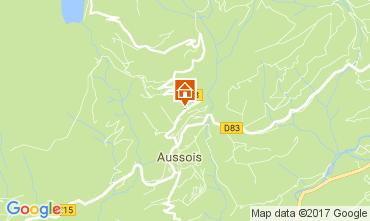 Map Aussois Apartment 111552