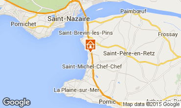 Map Saint Brevin les Pins Mobile home 95305
