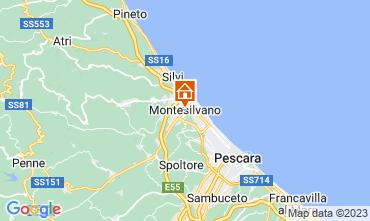Map Montesilvano Marina Apartment 65228