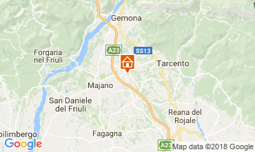 Map Udine House 84288