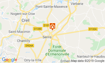 Map Aiguines Mobile home 58192