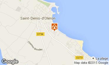 Map Saint Denis d'Oléron Villa 74637