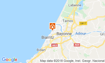 Map Anglet House 85083