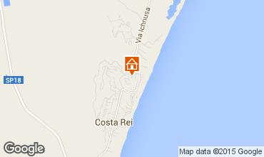 Map Costa Rei Apartment 57672