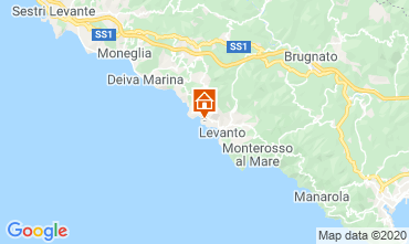 Map Bonassola Apartment 27353