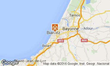 Map Biarritz Flat 55260