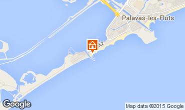 Map Palavas-les-Flots Flat 6085
