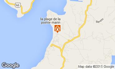 Map Sainte Anne (Martinique) Studio apartment 95418