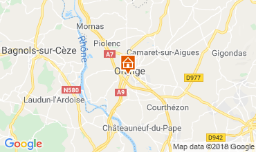 Map Orange Villa 117405