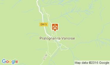 Map Pralognan la Vanoise Chalet 106385
