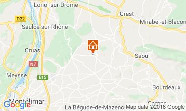 Map Montélimar House 117023