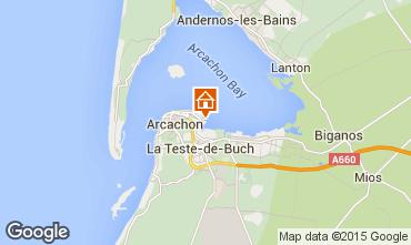 Map Arcachon Apartment 6626