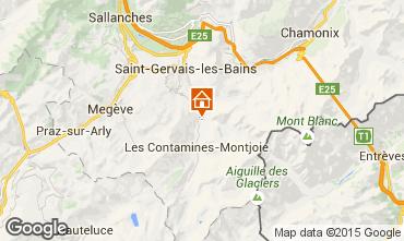 Map Les Contamines Montjoie Chalet 19543