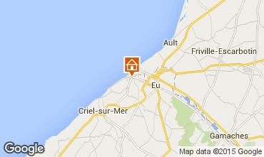 Map Le Tréport House 78207