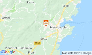Map Porto Vecchio Apartment 117888