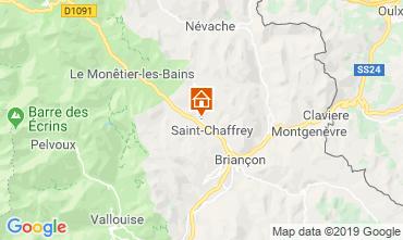 Map Serre Chevalier Chalet 118830