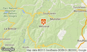 Map Munster Self-catering property 65244