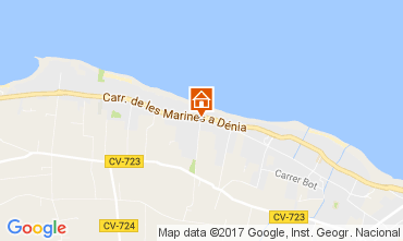 Map Denia Bungalow 108044