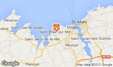 Map Saint Briac sur Mer Mobile home 91448