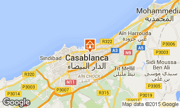 Map Casablanca Apartment 75111