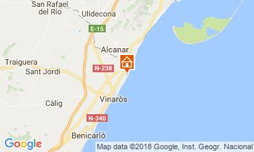 Map Vinaròs Villa 53548