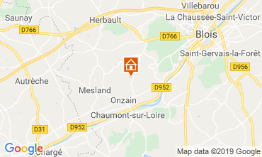 Map Blois Mobile home 117941