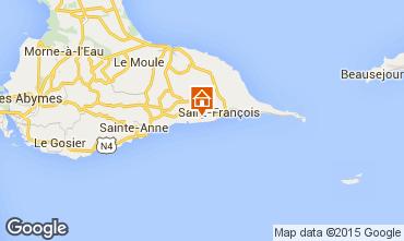 Map Saint Francois Villa 101259