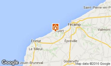 Map Etretat House 86624