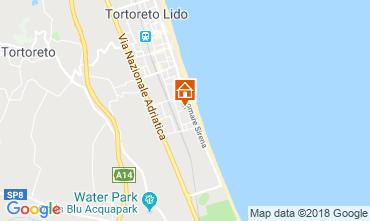 Map Tortoreto Apartment 94099