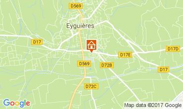 Map Eyguières House 112210