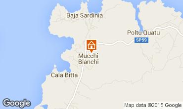 Map Porto Cervo Apartment 29162