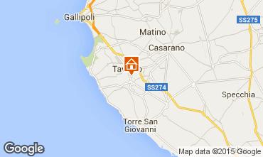 Map Gallipoli Apartment 77656