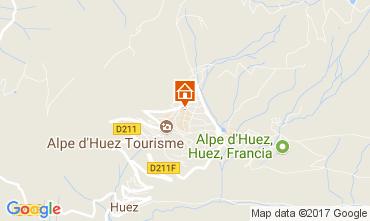 Map Alpe d'Huez Apartment 112516