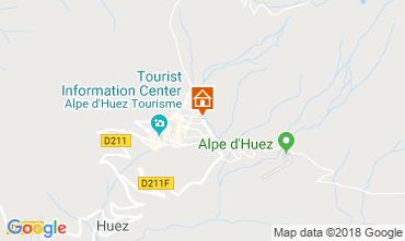 Map Alpe d'Huez Studio apartment 116847
