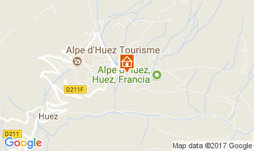 Map Alpe d'Huez Apartment 111769