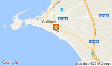 Map Gallipoli Apartment 113109